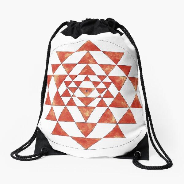 Sri Yantra 11 Drawstring Bag