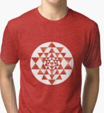 Sri Yantra 11 Tri-blend T-Shirt