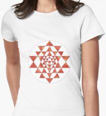 Sri Yantra 11 Women's Fitted T-Shirt