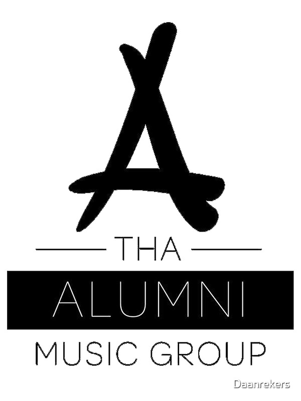tha alumni logo fixed stickers by daanrekers