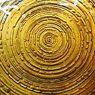 Golden Glass by WildestArt