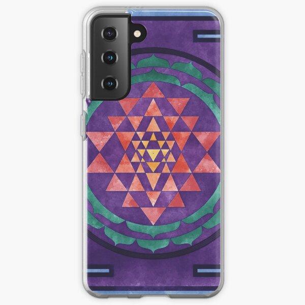 Sri Yantra 01 Samsung Galaxy Soft Case