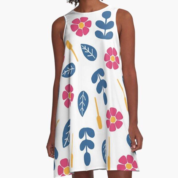 Flower power A-Line Dress