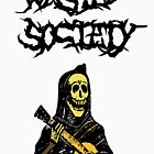 Wasted Society Skeleton with Guitar by mkeene2015