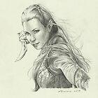 Daughter of Mirkwood by Alessia Pelonzi