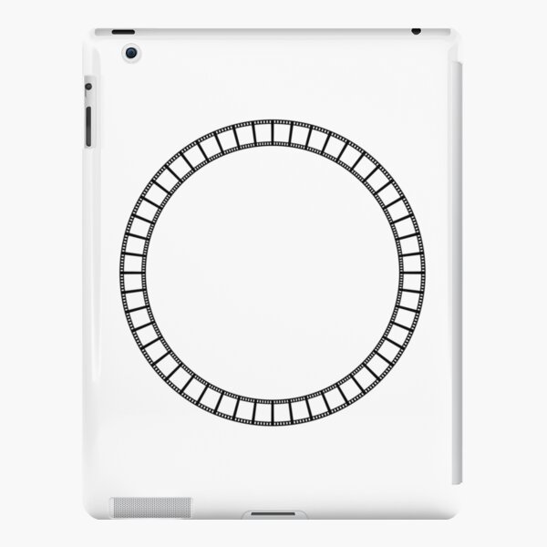Abstract circle iPad Snap Case