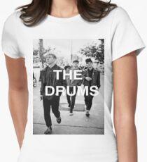 Camiseta entallada para mujer La camisa de tambores
