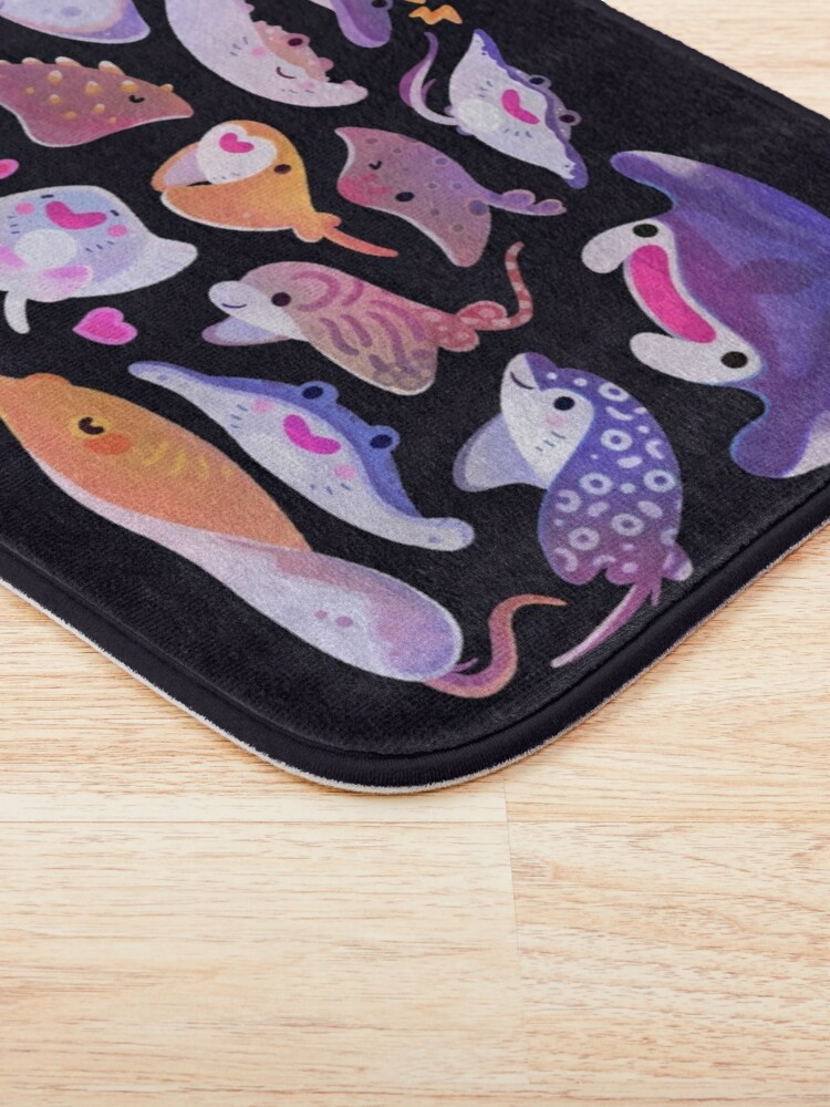 Alternate view of Ray day 1 Bath Mat