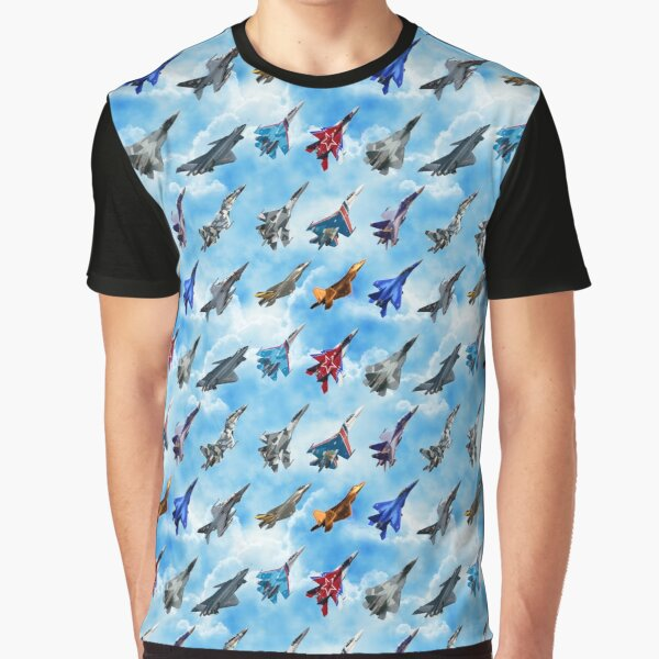 Fighter Jets Graphic T-Shirt