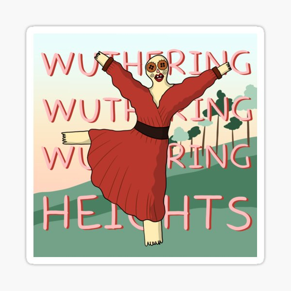 WUTHERING Heights Sticker