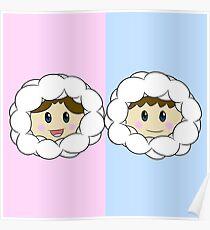 Nana and Popo (Ice Climbers) Poster