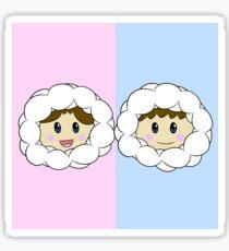 Nana and Popo (Ice Climbers) Sticker