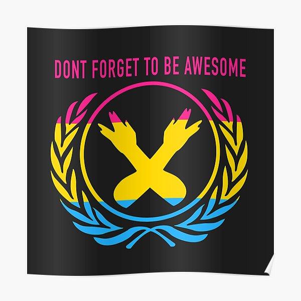 DFTBA Pan Pride Poster