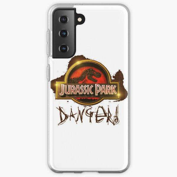 Jurassic Park Danger World Dinosaur Samsung Galaxy Soft Case