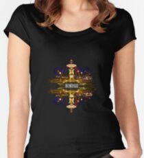Bendigo Fountain Reflection Women's Fitted Scoop T-Shirt