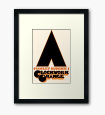 A Clockwork Orange II Framed Print