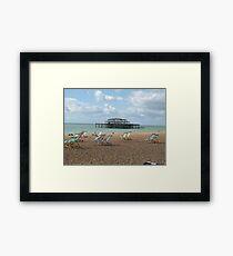 British Seaside Framed Print