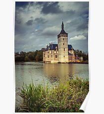 Castle in Flanders, Belgium Poster