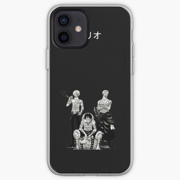 Phone case Sanji Luffy zoro Coque souple iPhone