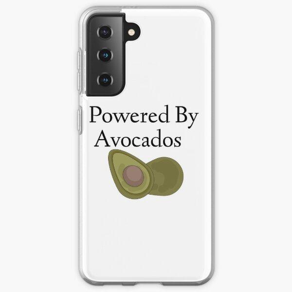 Powered By Avocados  Samsung Galaxy Soft Case