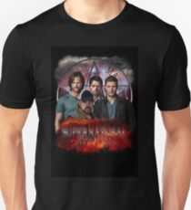 Supernatural Family dont end with blood 3  T-Shirt