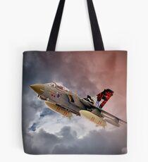 Storming 2 !! Tornado GR4 617 Squadron Tote Bag