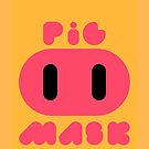 Pig Mask Logo by SophisticatC x Studio Momo╰༼ ಠ益ಠ ༽