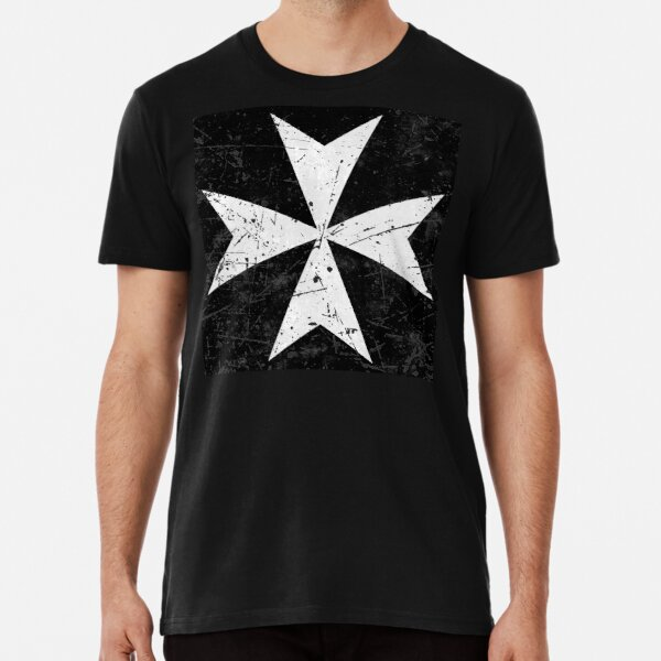 Knights Hospitaller Cross Flag Premium T-Shirt