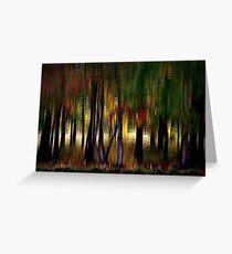 Nature With a Paintbrush Speaks Greeting Card