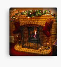 Warmest Christmas Greetings Canvas Print