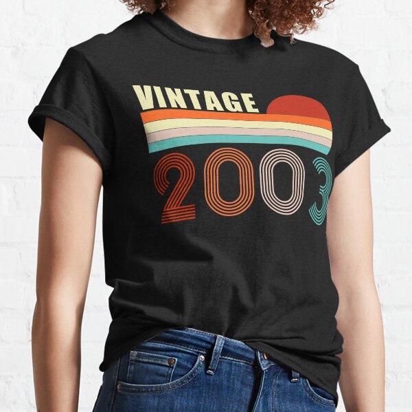 Vintage 2003 17 Years Old 17th Birthday Retro Classic T-Shirt