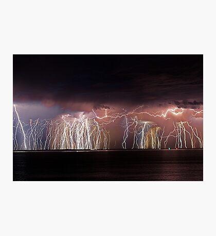Fremantle Thunderstorm  Photographic Print