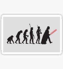 THE STAR WARS EVOLUTION Sticker