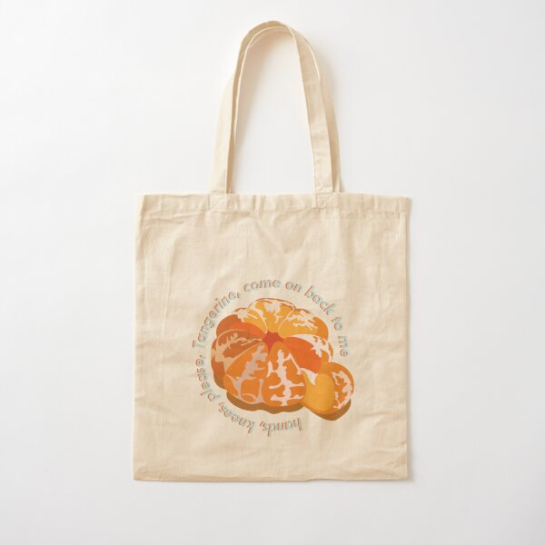Tangerine, come on back to me  Cotton Tote Bag