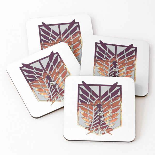 Wings of Freedom Coasters (Set of 4)