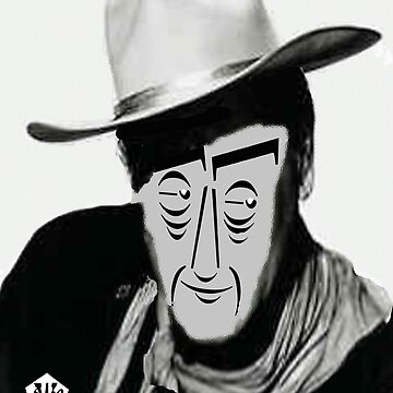 Typortraiture John Wayne by sethweaver