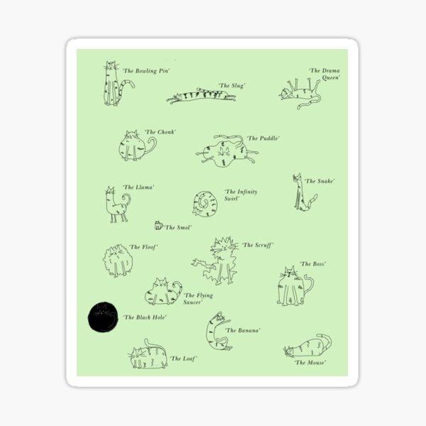 Oddcats - Green Sticker