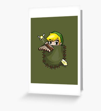 Pocket Link Greeting Card