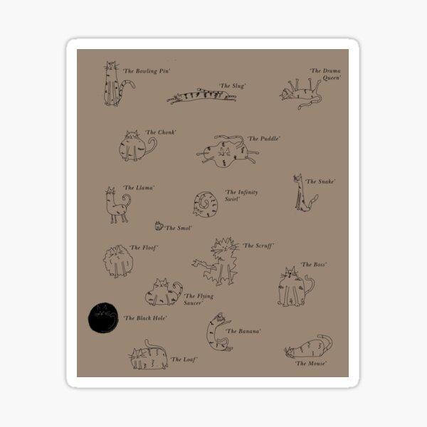 Oddcats - Beige Sticker