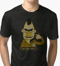 God's Lonely Puppet Tri-blend T-Shirt