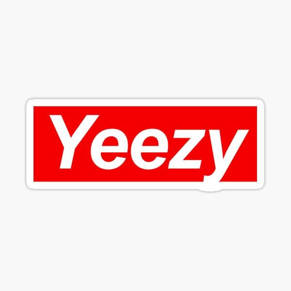 Yeezy Supr Sticker