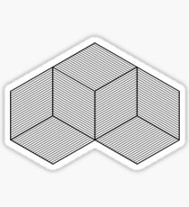 Geometric Illusion Sticker