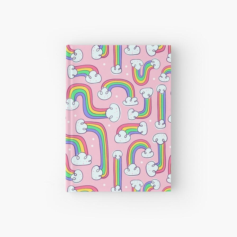 Curvy Rainbows Hardcover Journal