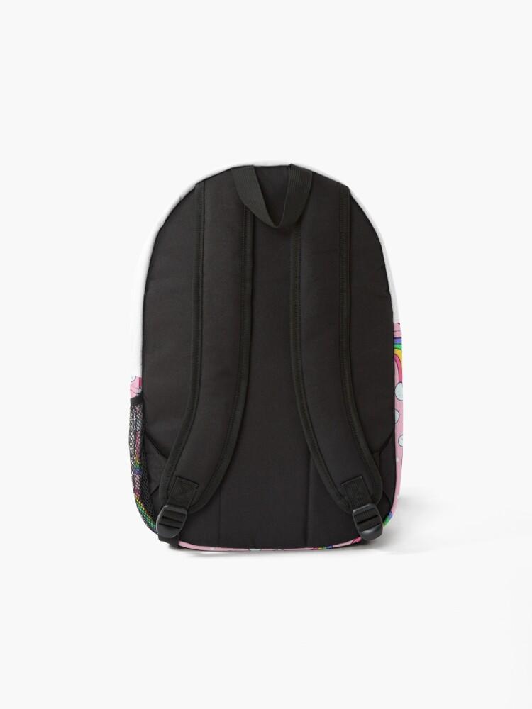 Alternate view of Curvy Rainbows Backpack