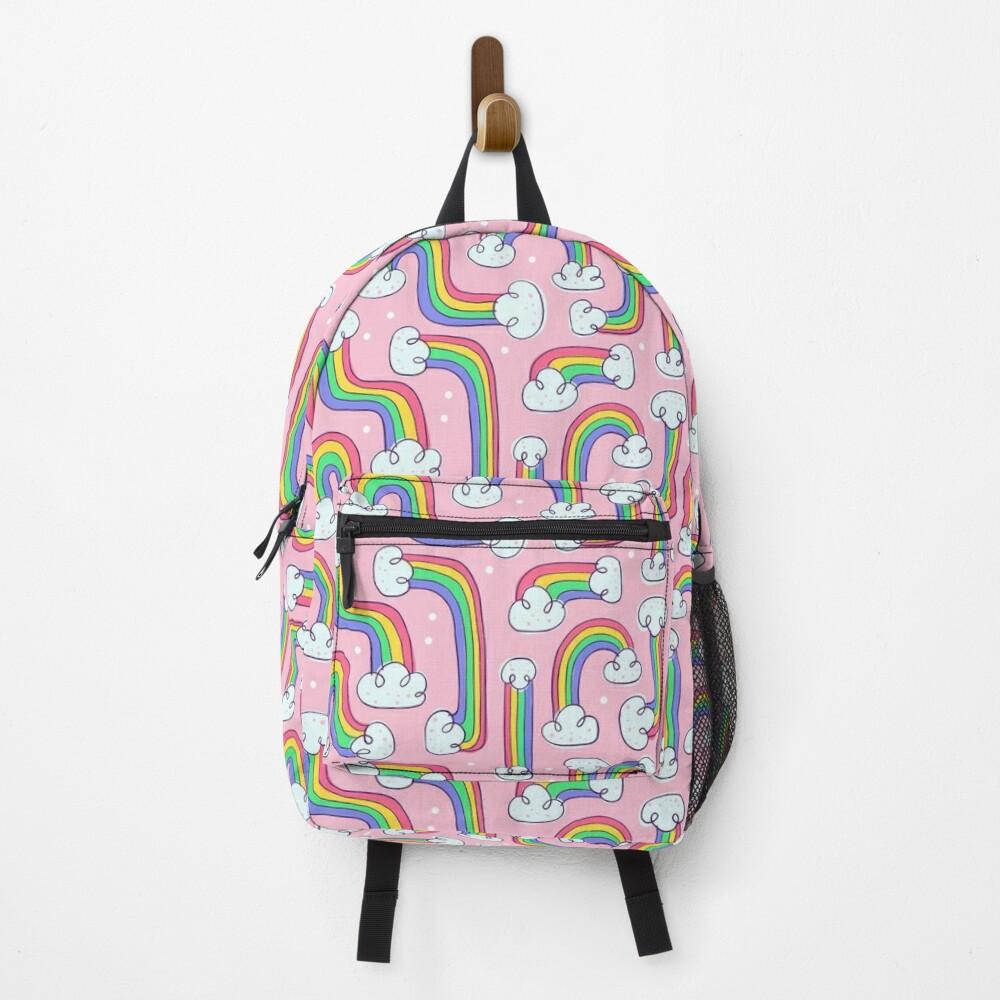 Curvy Rainbows Backpack