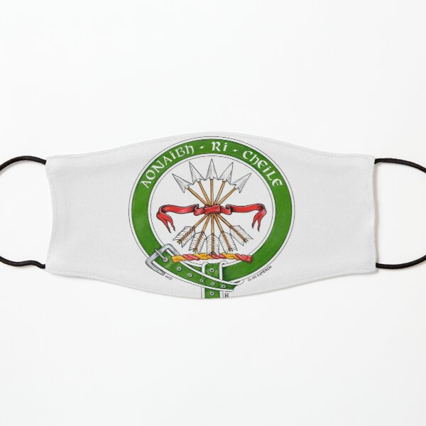 Scottish Crest of Clan Cameron Kids Mask