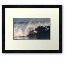 The Art Of Surfing In Hawaii 26 Framed Print