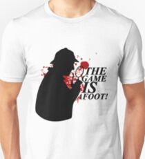The Game is AFOOT! V.2 T-Shirt
