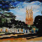'Church of St Mary Magdalene, Chewton Mendip, Somerset' by Martin Williamson (©cobbybrook)