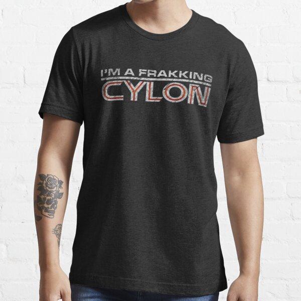 I'm a Frakking Cylon (Grunge) Essential T-Shirt